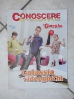 Conoscere Insieme - Opuscolo - Galassia Videogiochi -  IL GIORNALINO - Books, Magazines, Comics