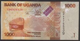 Uganda 1000 Shillings 2017 P49e UNC - Ouganda