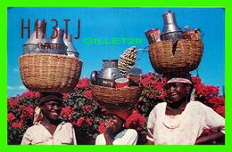 PÉTION-VILLE, HAITI - MILKMAIDS - TRAVEL IN 1956 - - Haïti