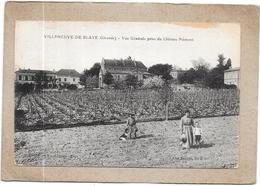 VILLENEUVE DE BLAYE - 33 - Vue Générale Prise Du Chateau Pièmont - DELC33 - - Blaye