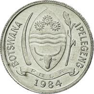 Monnaie, Botswana, Thebe, 1984, British Royal Mint, TTB, Aluminium, KM:3 - Botswana