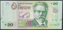 Uruguay 20 Pesos 2015 P93 UNC - Uruguay