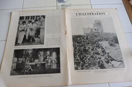 L'ILLUSTRATION 18 AOÛT 1928-MONT KEMMEL-YPRES-DESERT DE LIBYE MONT DES MORTS OSASIS -L'ILE DE ROBINSON CRUSOE-CLOTURE JO - L'Illustration