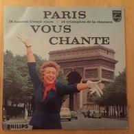 Livre-disque LP 33 T Paris Vous Chante Patachou Guy Béart Brassens Juliette Gréco Jacques Brel Piaf - Collector's Editions