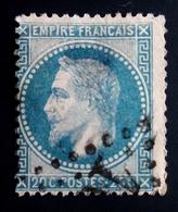 1868 France Yt 29Ba .  Empire Français Napoleon Laure ; OBLITERE - 1863-1870 Napoleon III With Laurels