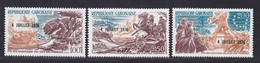 GABON AERIENS N°  181 à 183 ** MNH Neuf Sans Charnière, TB (D7896) 200 Ans Indépendance Etats Unis - 1976 - Gabon (1960-...)