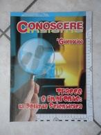 Conoscere Insieme - Opuscolo - Tracce E Impronte: La Polizia Scientifica -  IL GIORNALINO - Libri, Riviste, Fumetti