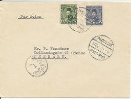 Egypt Paquebot Cover Sent To Denmark Port Said 12-12-1904 - Egypt