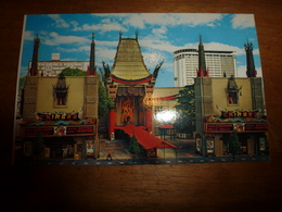 Carte Postale : Le World Famous Chinese Theatre On Hollywood Blvd - Los Angeles