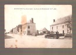 BOURGNEUF-EN-MAUGES - La Route De Montrevault - L.V Phot - France