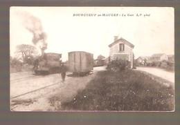 BOURGNEUF-EN-MAUGES - La Gare- L.V Phot - France