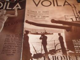 VOILA 35/ FLOTTE BRITANNIQUE /TIR A L ARC GOLF /ETHIOPIE /LADOUMEGUE /ITALIE GUERRE /CIRCUIT TROPIQUES INDE - Livres, BD, Revues