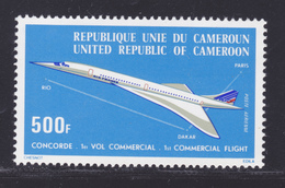 CAMEROUN AERIENS N°  247 ** MNH Neuf Sans Charnière, TB (D7923) Avion, Concorde, 1er Vol Commercial Paris-Dakar - 1976 - Cameroun (1960-...)