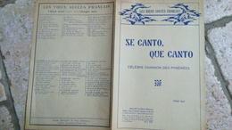 SE CANTO QUE CANTO - CELEBRE CHANSON DES PYRENEES - CHANT SEUL - LES VIEUX SUCCES FRANCAIS - Folk Music
