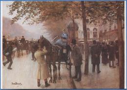 Jean BERAUD - Le Boulevard Des Capucines, Vers 1880 - Peintures & Tableaux