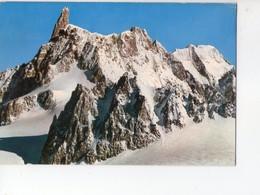 U4268 Cartolina 1973 COURMAYEUR (aosta) DENTE DEL GIGANTE _ ED. CAPURSO 81 P. MARZARI - Montagna Mountain Montagne - Altre Città