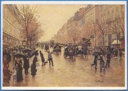 Jean BERAUD - Les Grands Boulevards - Peintures & Tableaux