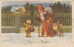 Joyeux Noël, Merry X-Mas, Santa Claus, Pêre Noël (pk53633) - Kerstman
