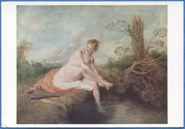 Jean-Antoine WATTEAU - Diane Au Bain, 1715-1716 - Peintures & Tableaux