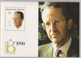 Jaarset 1990 (inhoud Zie Scans) Uitgifteprijs:1100Bef = 27,27 Euro- Inclusief Zwart-wit Velletje Europa Zegels N°2367/68 - Jahressätze