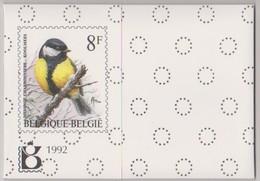 Jaarset 1992 (inhoud Zie Scans) Uitgifteprijs:1000Bef = 24,79 Euro- Inclusief Zwart-wit Velletje Europa Zegels N°2454/55 - Jahressätze