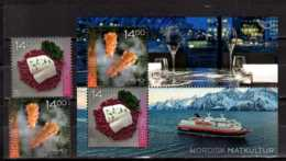 2016 Norway -Norden Joint Issue Cousine Of Norden Countries - Full Set Of 2 V And MS MNH** MiNr. 1906 - 1907 (Block 48) - Gemeinschaftsausgaben