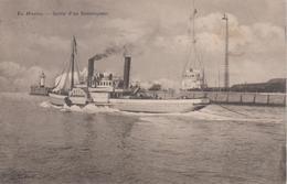 CPA Précurseur Le Havre - Sortie D'un Remorqueur (bateau Avec Roues à Aubes) - Hafen