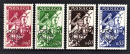 MONACO 1960 - SERIE N° 19 A 22 - 4 PREO NEUFS** /1 - Monaco