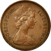 Monnaie, Grande-Bretagne, Elizabeth II, 2 Pence, 1980, TTB, Copper Plated Steel - 1971-… : Monnaies Décimales