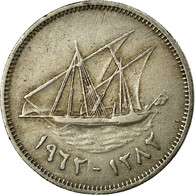 Monnaie, Kuwait, Jabir Ibn Ahmad, 20 Fils, AH 1382/1962, TTB, Copper-nickel - Koweït