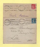Krag - Lyon Guilre - Lot De 2 Flammes - Postmark Collection (Covers)