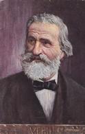 VERDI. WIENER KUNST. CIRCULEE 1912 BUENOS AIRES L'ARGENTINE. CORRESPONDANCE FAMILLIE LOUSTALAN- BLEUP. - Zangers En Musicus