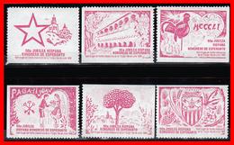 VIÑETAS DE ESPERANTO. SANT CUGAT DEL VALLES BARCELONA CATALUNA CONGRESO DEL 1 AL 16- JULIO 1990 - Variedades & Curiosidades