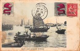 CPA Junks And Sampans ( China ) - Chine