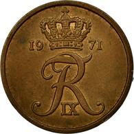 Monnaie, Danemark, Frederik IX, 5 Öre, 1971, Copenhagen, TTB, Bronze, KM:848.1 - Norvège