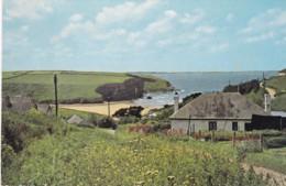 MAWGAN PORTH BEACH FROM TRENANCE - England