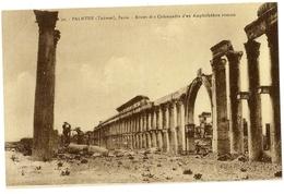 S7157 - Palmyre (Tadmor) - Restes Des Colonnades D'un Amphithéâtre Romain (N°30) - Syrie