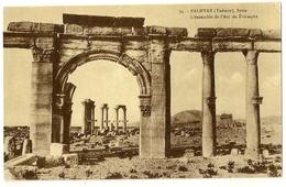 S7158 - Palmyre (Tadmor) - L' Ensemble De L' Arc De Triomphe (N°34) - Syrie