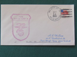 USA 1995 Cover From Ship USS Essex In Mission In Somalia To Texas - Flag - United States