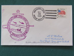 USA 1995 Cover From Ship USS Ogden In Mission In Somalia To Texas - Flag - Helicopters - United States