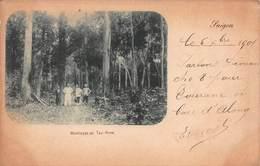 CPA Montaque De Tay-Ninh - Saigon 1901 - Viêt-Nam