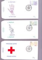 F.D.C. N° 2612 à 14 OBL.1J 9-9-95 CROIX - ROUGE BELGIQUE - FDC