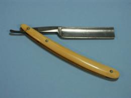 Rasoir, Razor - Couper -chou, Cut Troath, Lame 15 Mm X 70mm, Peerless, Landers Frary And Clarck, New Britain, Conn. USA - Accessoires
