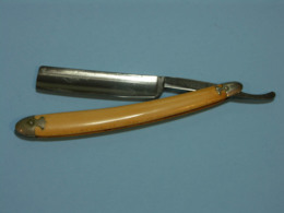 Rasoir, Razor - Couper -chou, Cut Troath, Lame 17 Mm X 72mm, Creater New York, F & G Haag & Co., Made In Germany - Accessoires