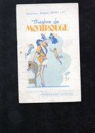 Programme Théatre De Montrouge ( Couverture Détachée ) - Programs