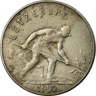 Monnaie, Luxembourg, Charlotte, Franc, 1960, TB, Copper-nickel, KM:46.2 - Luxembourg