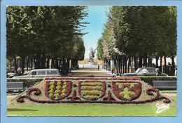 Angoulême 16 Jardins De L'Hôtel De Ville Ecusson Des Armes De La Charente Place De La Commune Monument Carnot 2scans - Angouleme