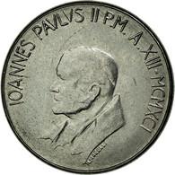 Monnaie, Cité Du Vatican, John Paul II, 50 Lire, 1991, Roma, SPL, Stainless - Vatican