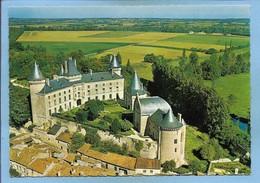 Verteuil-sur-Charente (16) Le Château 2 Scans Vue Aérienne - Autres Communes