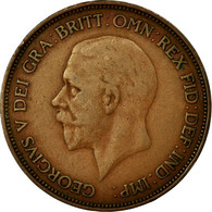 Monnaie, Grande-Bretagne, George V, Penny, 1936, TB+, Bronze, KM:838 - 1902-1971 : Monnaies Post-Victoriennes